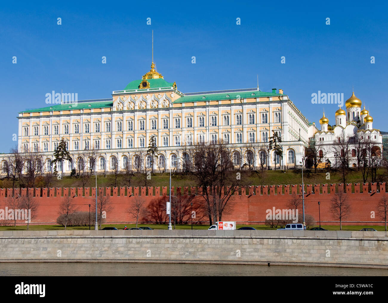 The Kremlin, Moscow, Russia - Stock Image