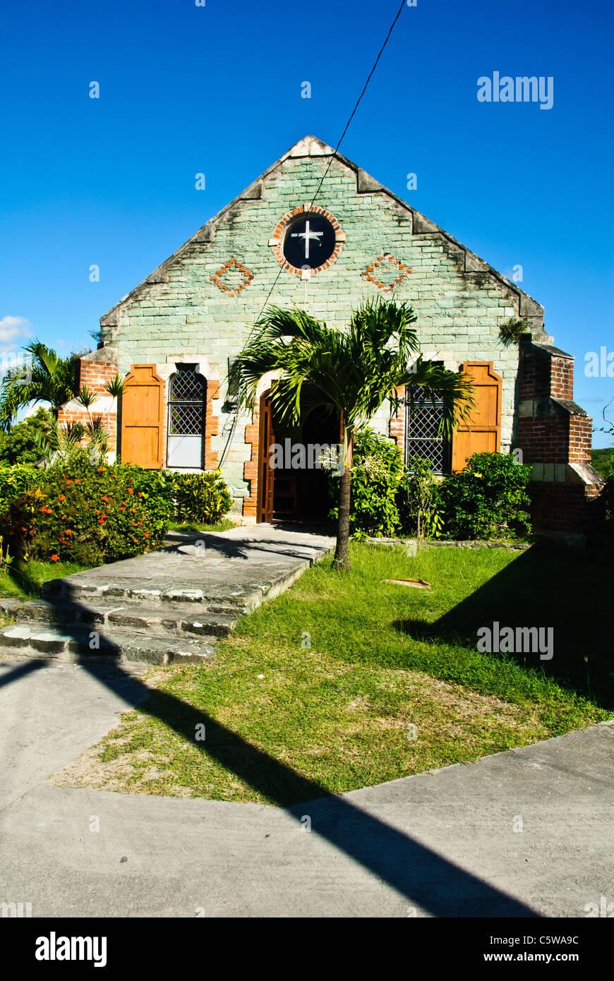 St. Barnabas Anglican Church, Liberta, Antigua - Stock Image