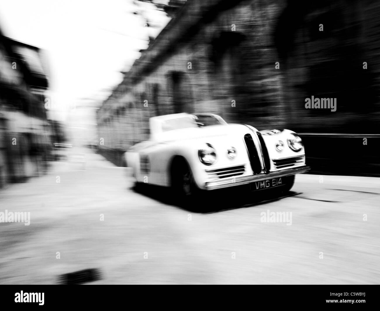 Mille Miglia 2011, San Marino - Stock Image