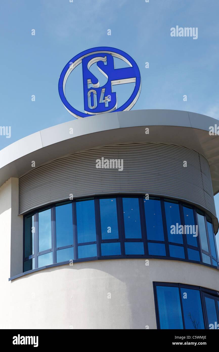 sports, football, Bundesliga, 2010/2011, Veltins Arena, former Arena AufSchalke, branch office of football club - Stock Image