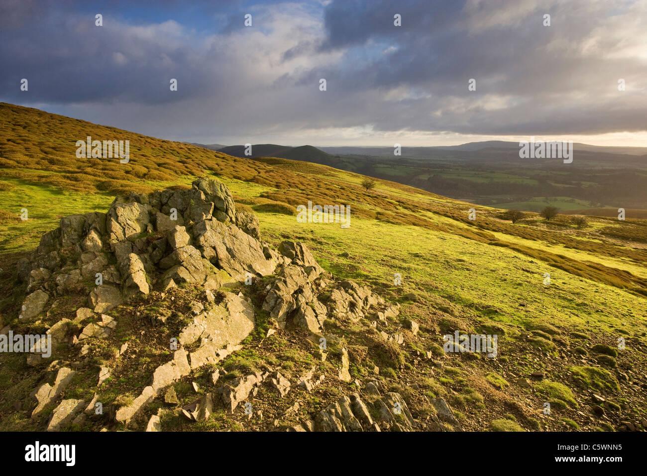 Long Mynd, Shropshire, England, Great Britain. - Stock Image