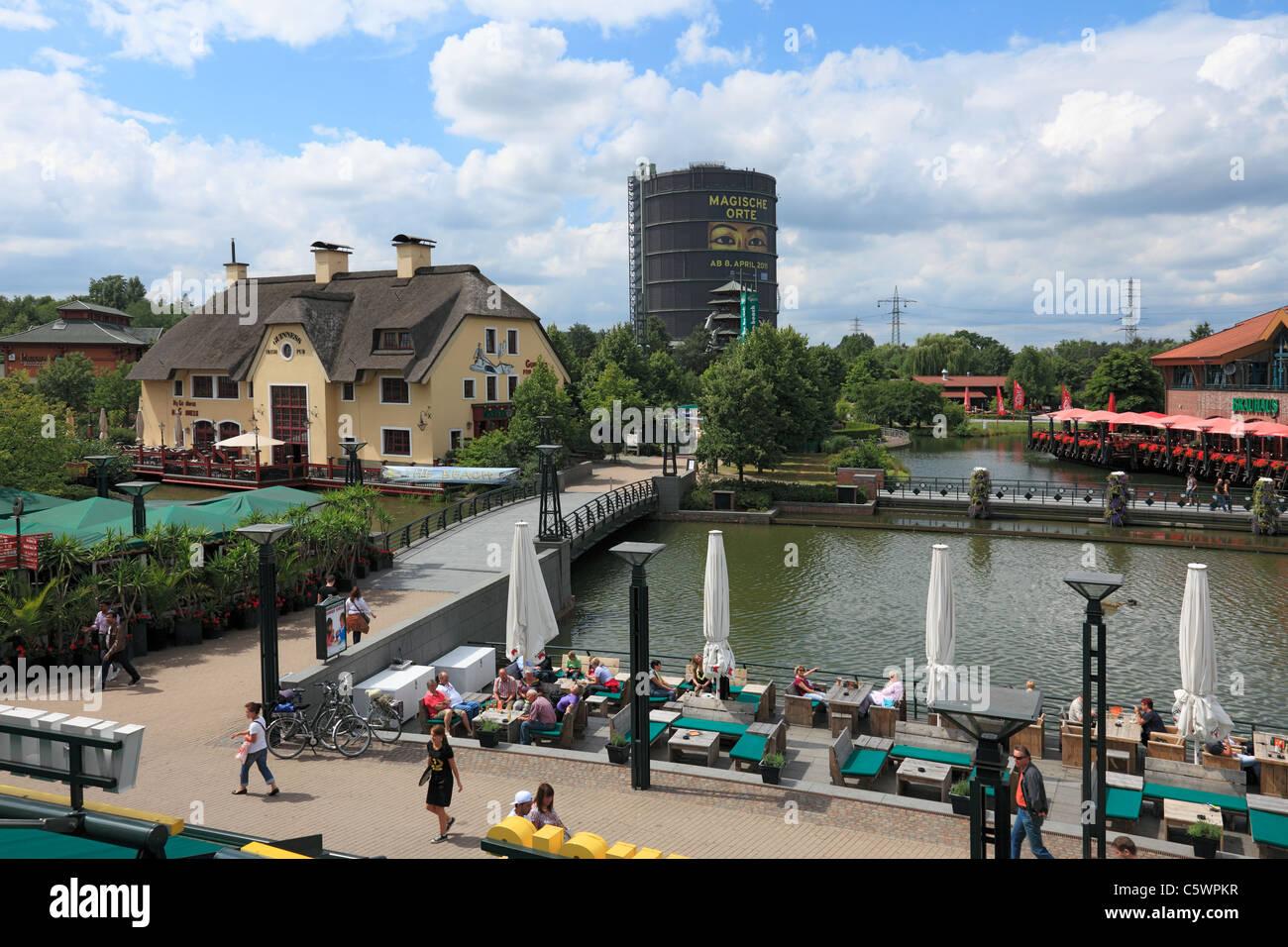 D-Oberhausen, Ruhr area, Lower Rhine, North Rhine-Westphalia, NRW, D-Oberhausen-Neue Mitte, Ruhr 2010, Cultural Stock Photo