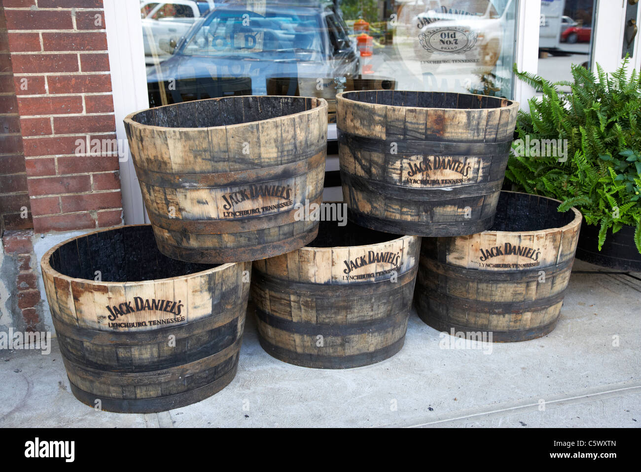 Half Jack Daniels Whiskey Barrels For Sale In At The Hardware Store