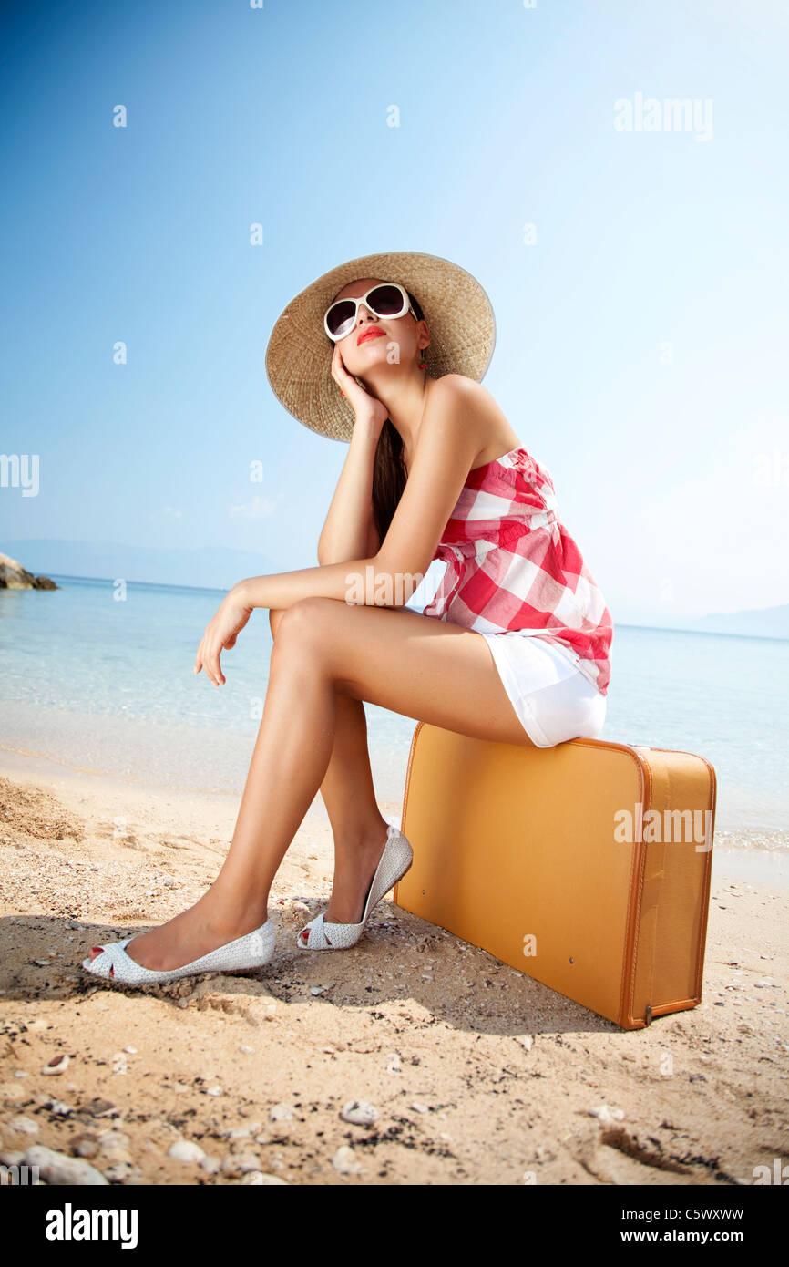 summer holiday - Stock Image