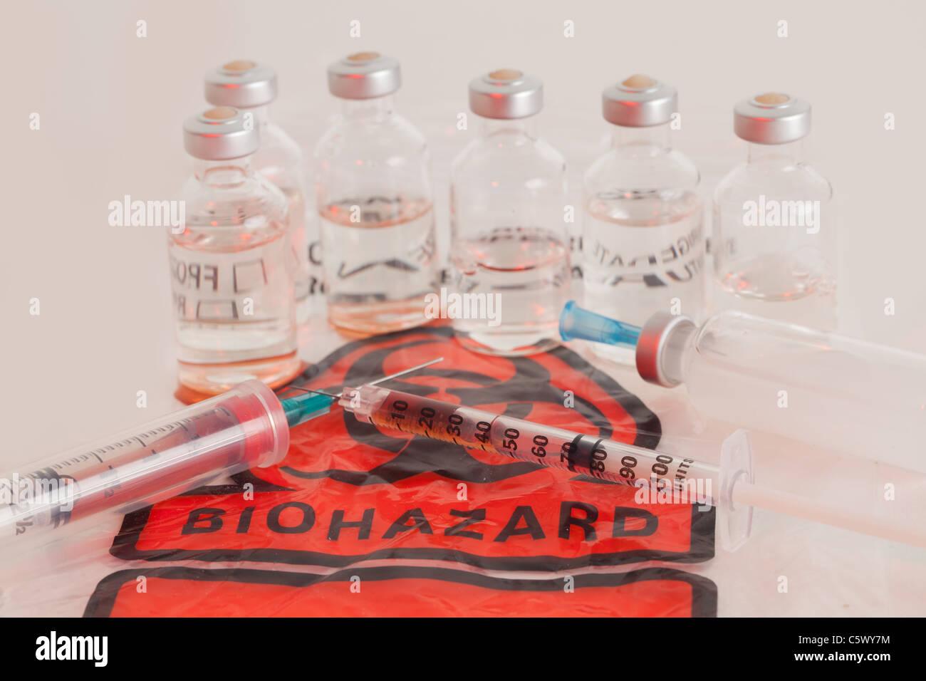 Bio Hazard Stock Photo