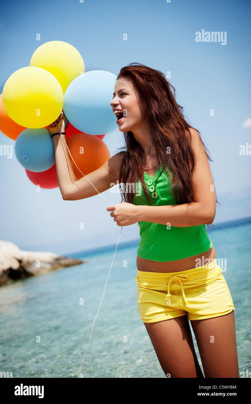 summer fun - Stock Image