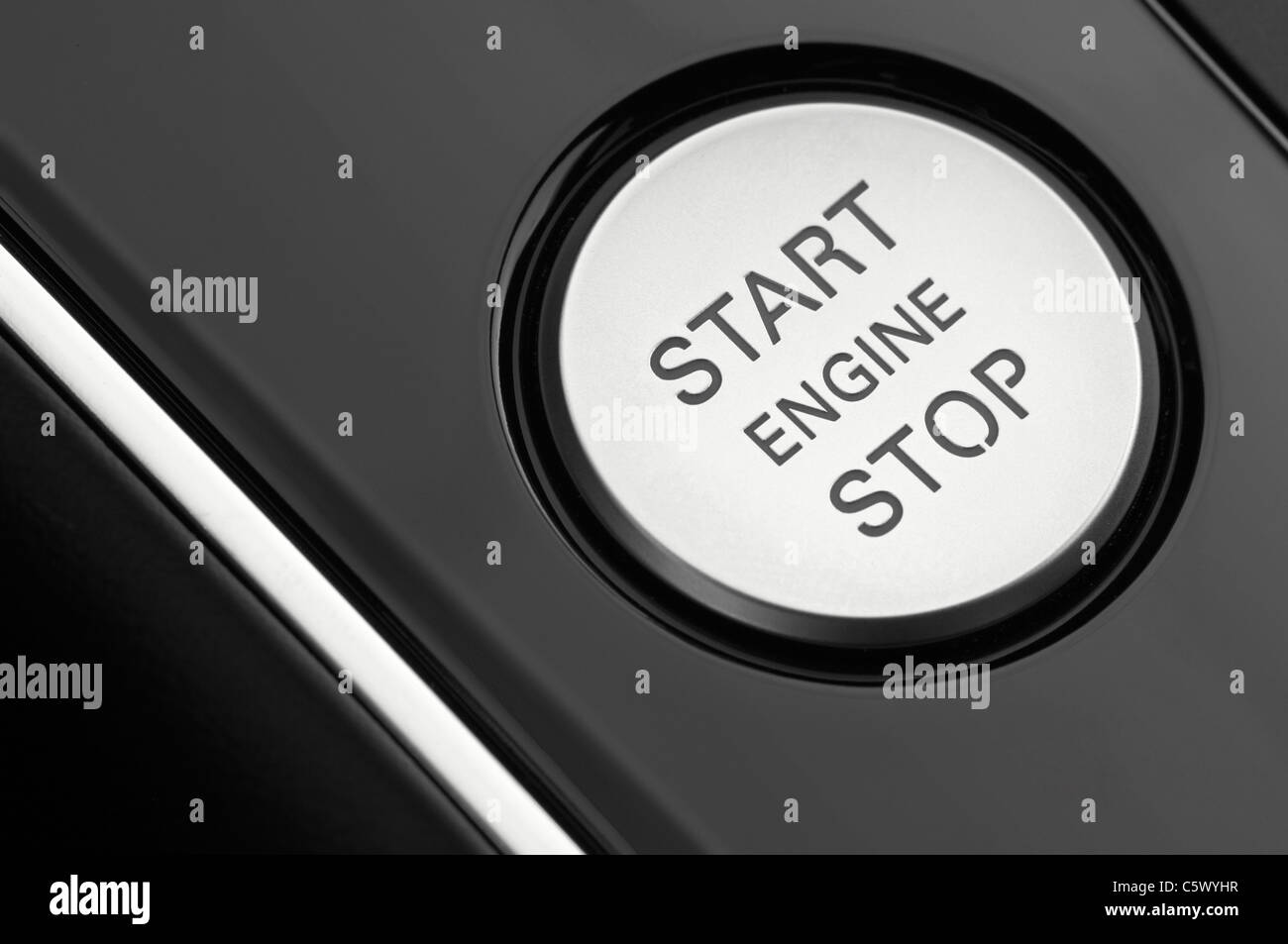 Car Ignition Stock Photos Images Alamy Alfa Romeo Timing Close Up Of A Cars Engine Button Image