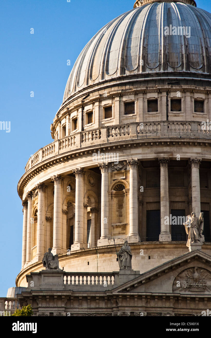 St.Paul's cathedral, London - Stock Image