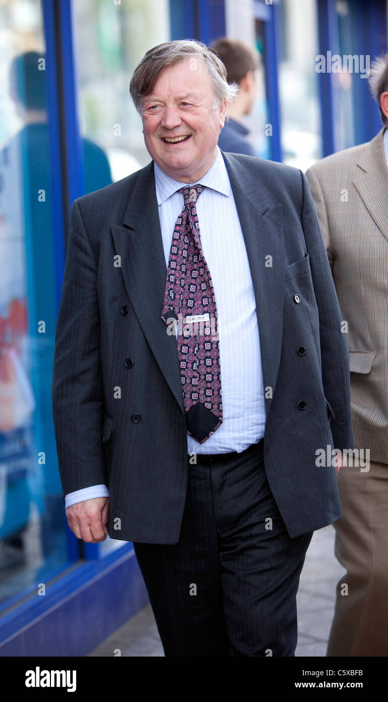 The Rt Hon. Kenneth Clarke QC MP (Conservative) Lord Chancellor and Secretary of State for Justice. - Stock Image