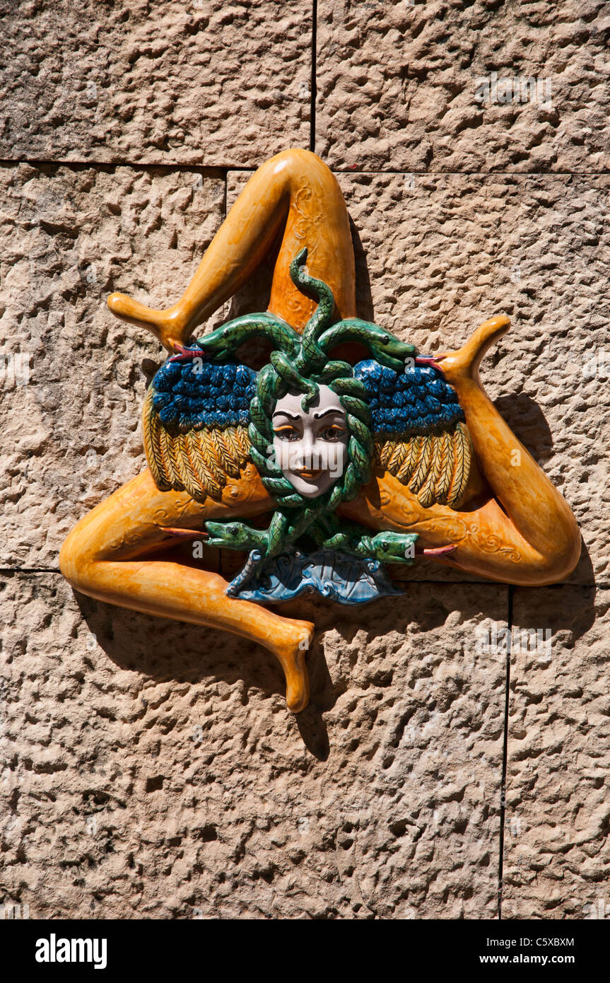 The Trischele Symbol Of Sicily Triskele Is A Motif Consisting Of