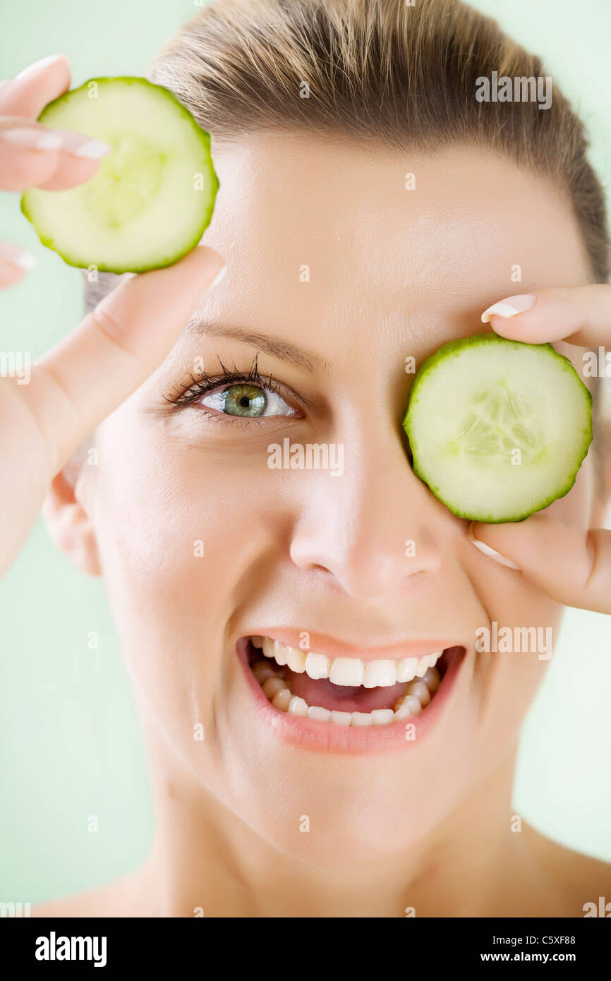 skin care - Stock Image