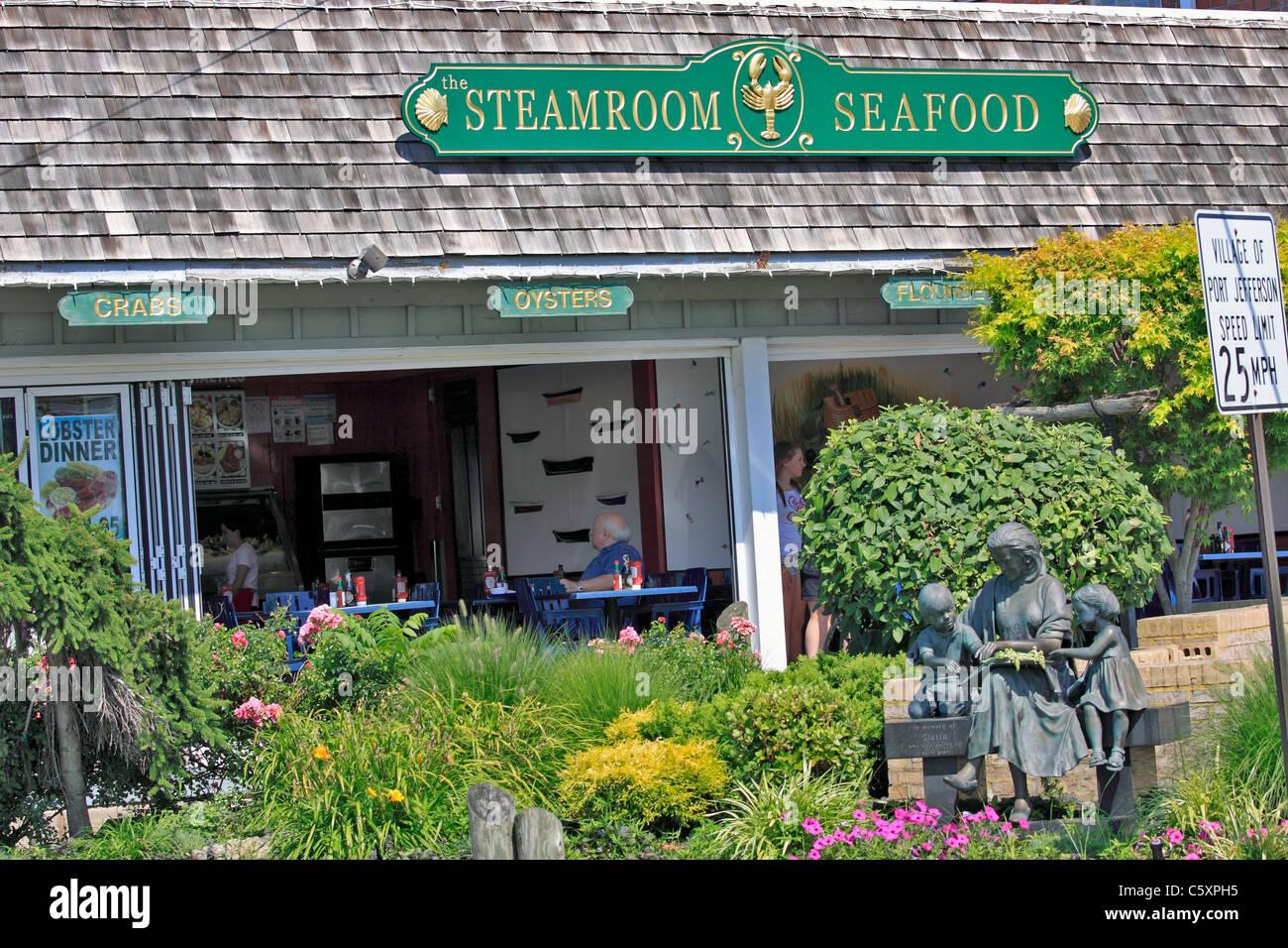 The Steamroom Seafood Restaurant Village Of Port Jefferson