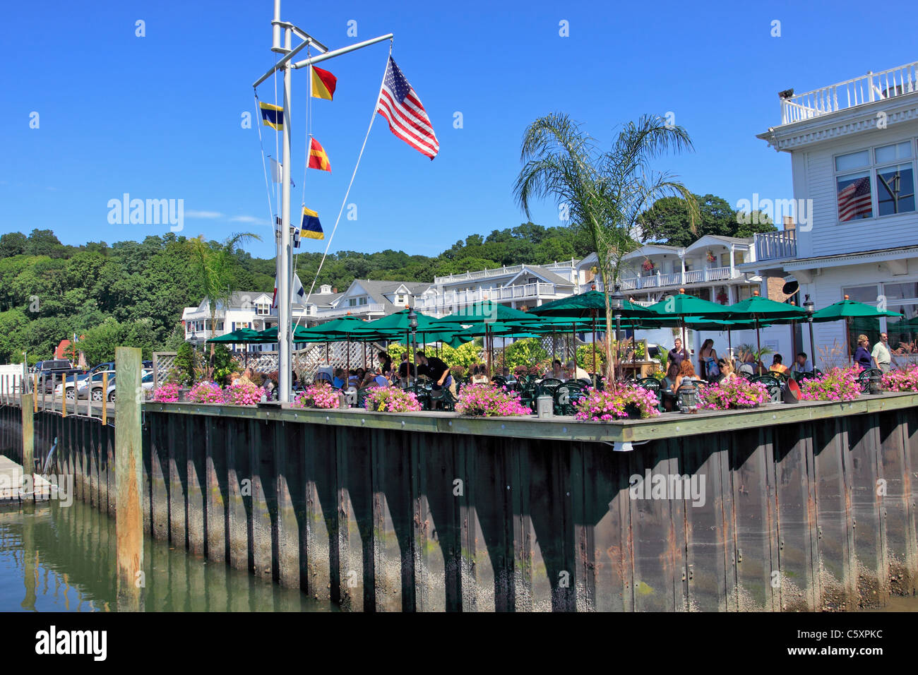 Outdoor Dining At Danfords Hotel And Marina Village Of Port