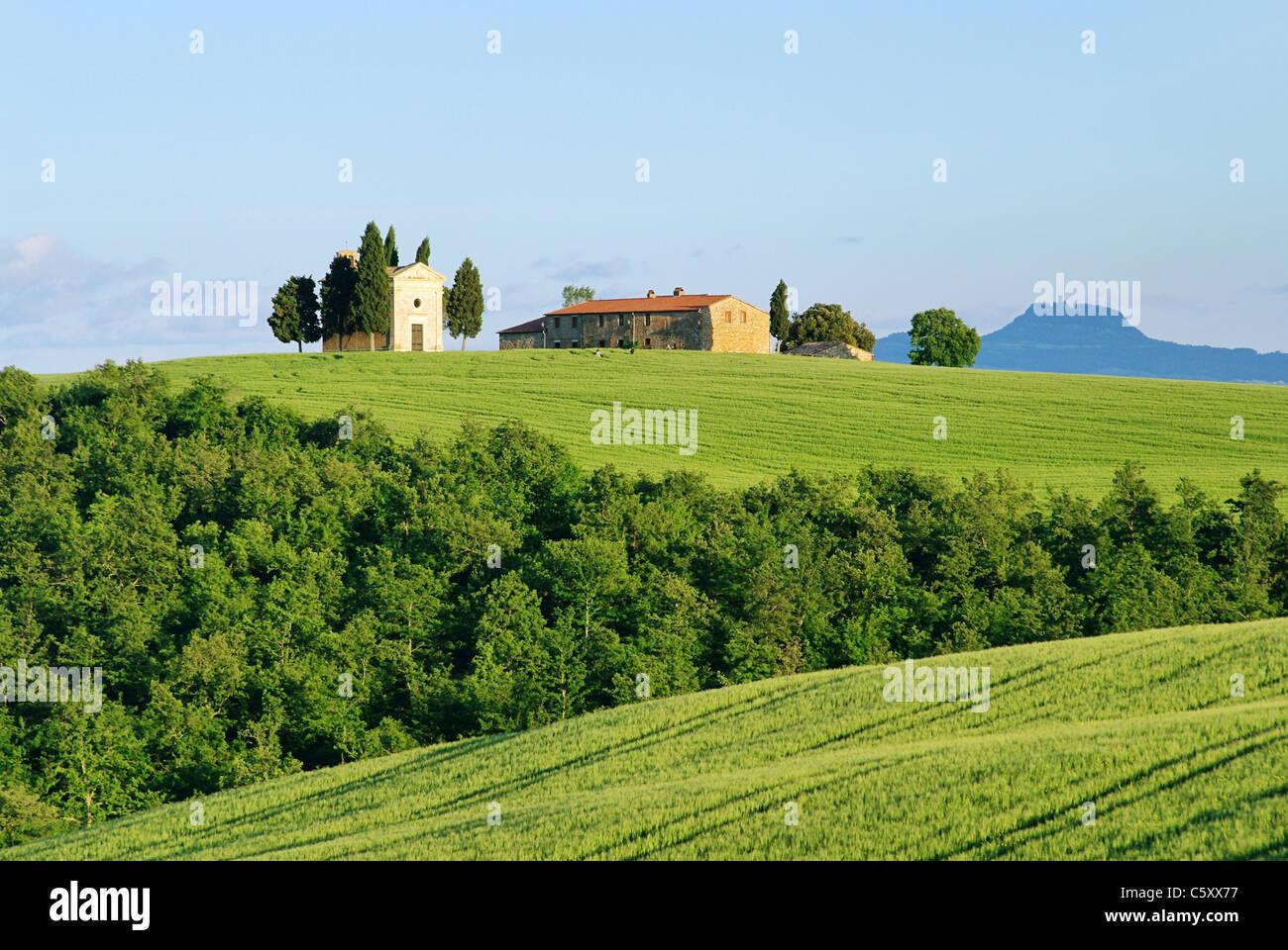 Toskana Kapelle - Tuscany chapel 08 - Stock Image