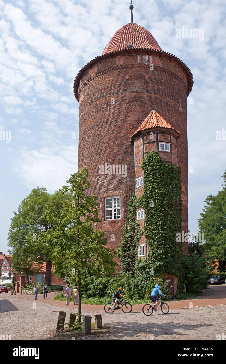 Waldemar Tower, Dannenberg, Lower Saxony, Germany - Stock Image