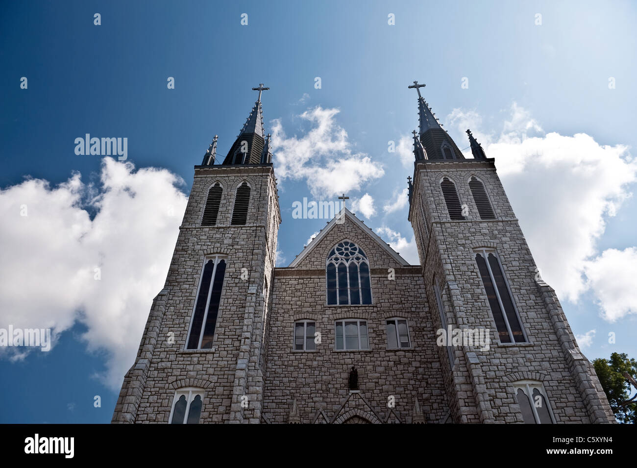 Saint Paul Cathedral in Midland Ontario, pilgrims place - Stock Image