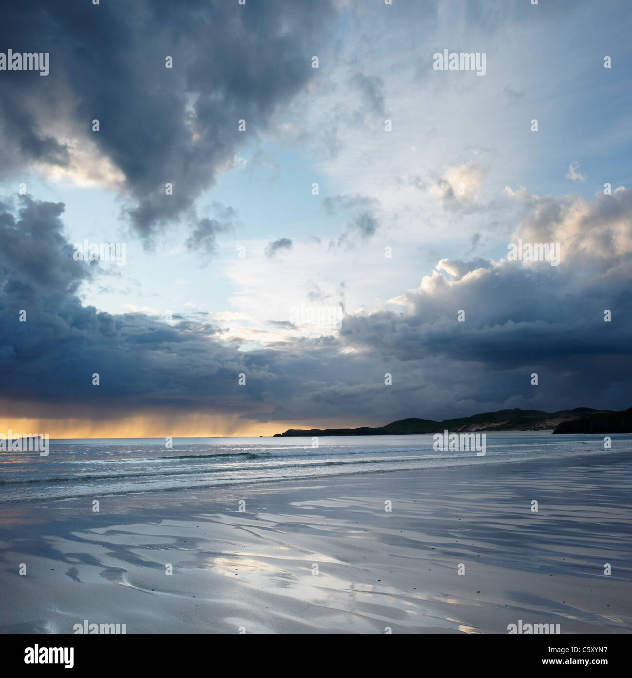 Balnakiel Bay, near Durness, Sutherland, Highland, Scotland, UK. Stock Photo