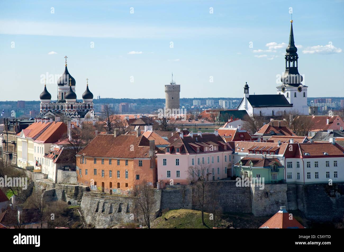 View of Tallinn, Estonia Stock Photo