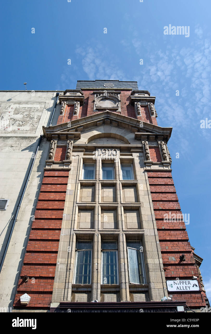 exterior of the former empire theatre, designed by bertie crewe and opened in 1910, in kingston upon thames, surrey, - Stock Image