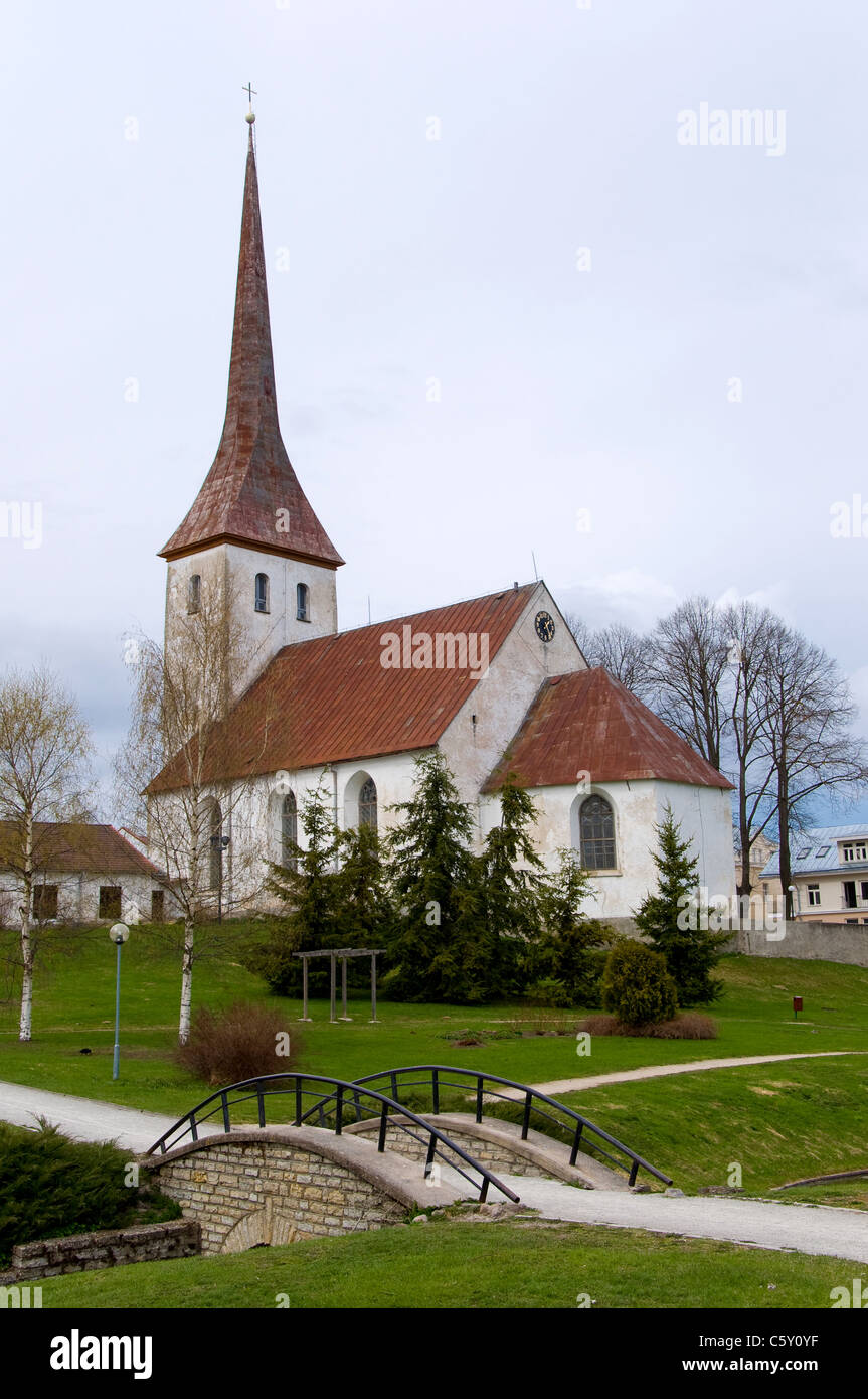 Church, Rakvere, Estonia - Stock Image