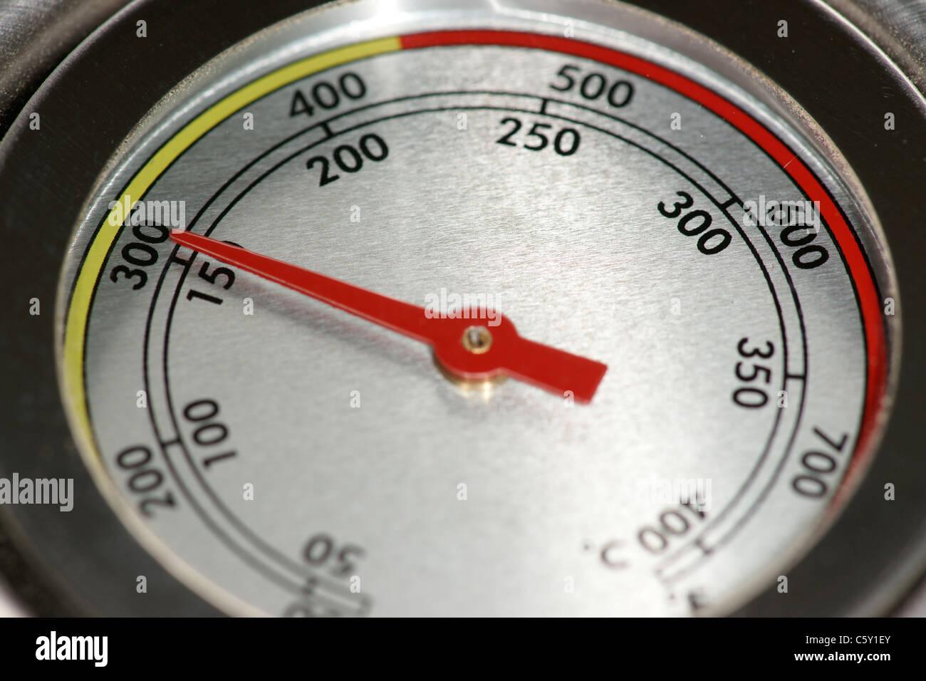 Temperature Gage - Stock Image