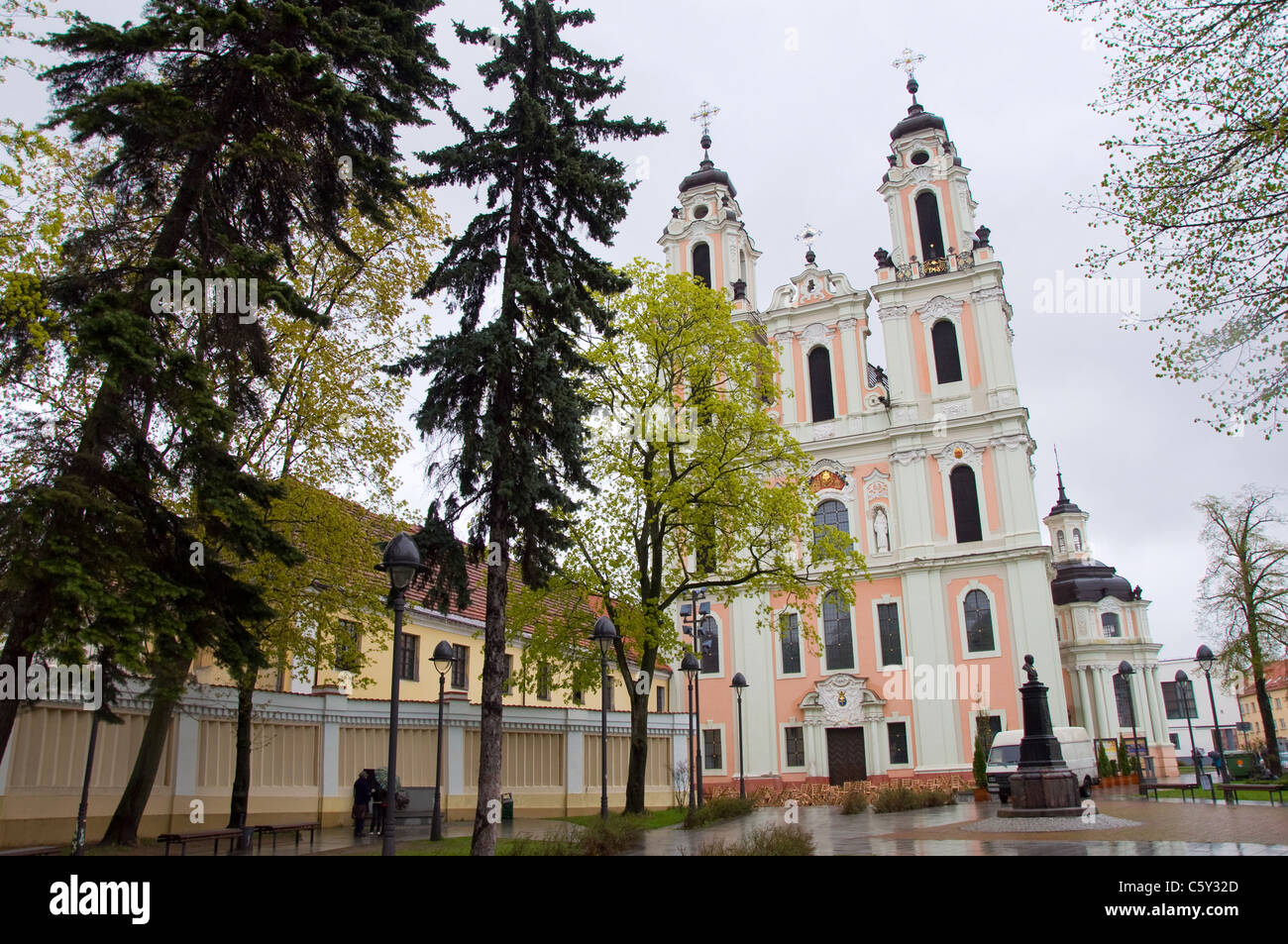 St. Catherine's Church, Vilnius, Lithuania - Stock Image