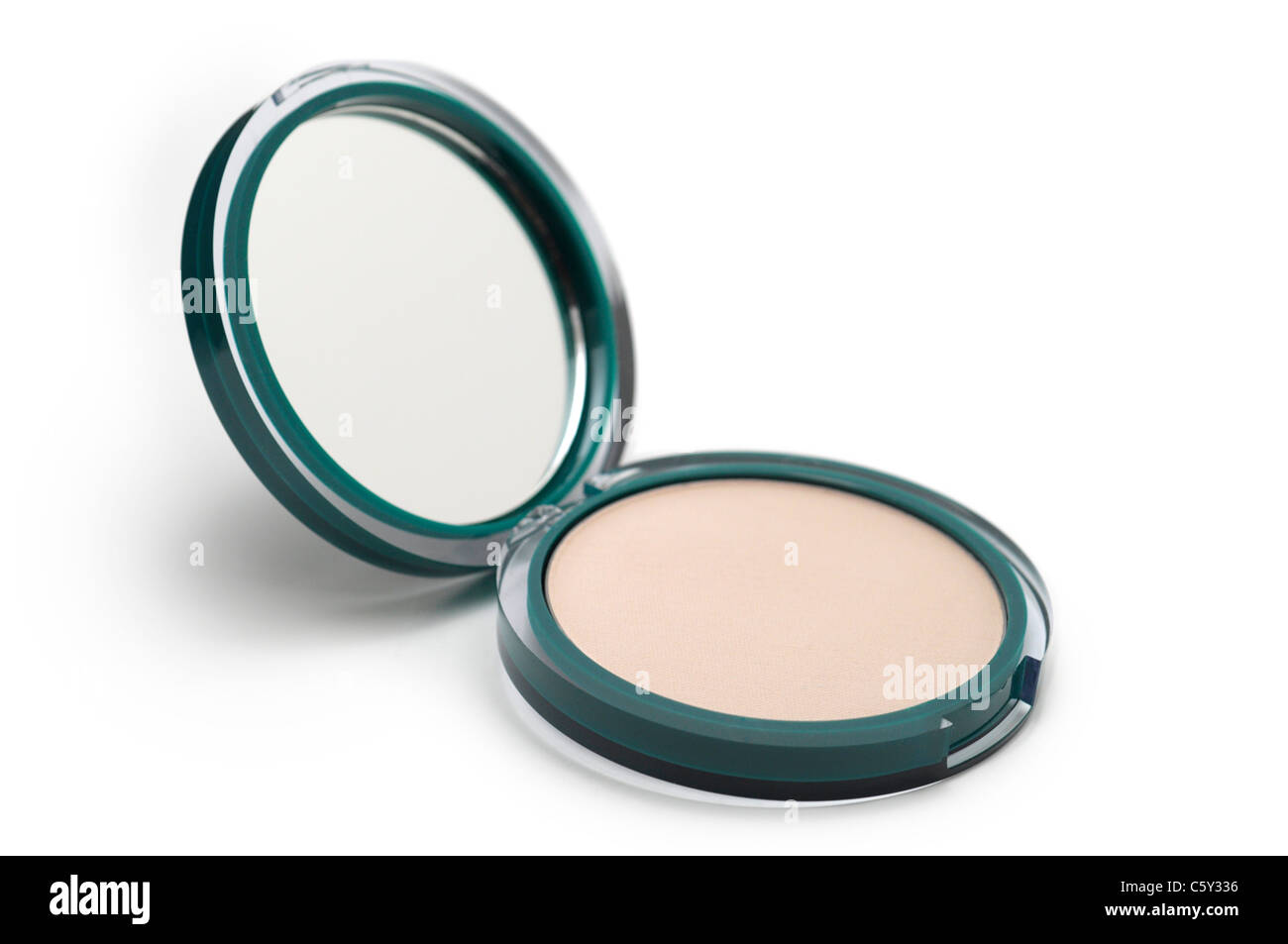 Face Powder Compact - Stock Image