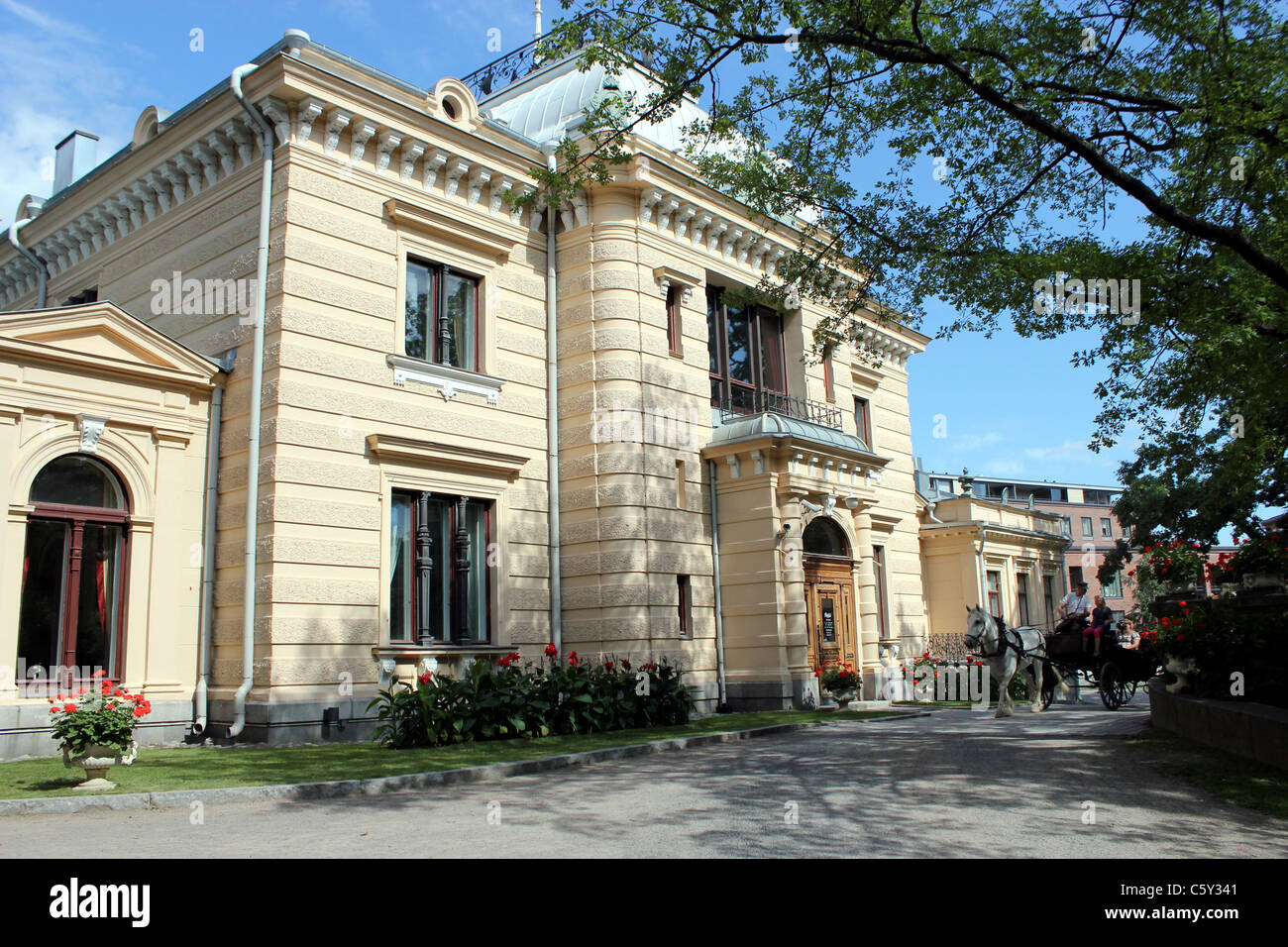 Finlayson Palace Tampere, Finland - Stock Image