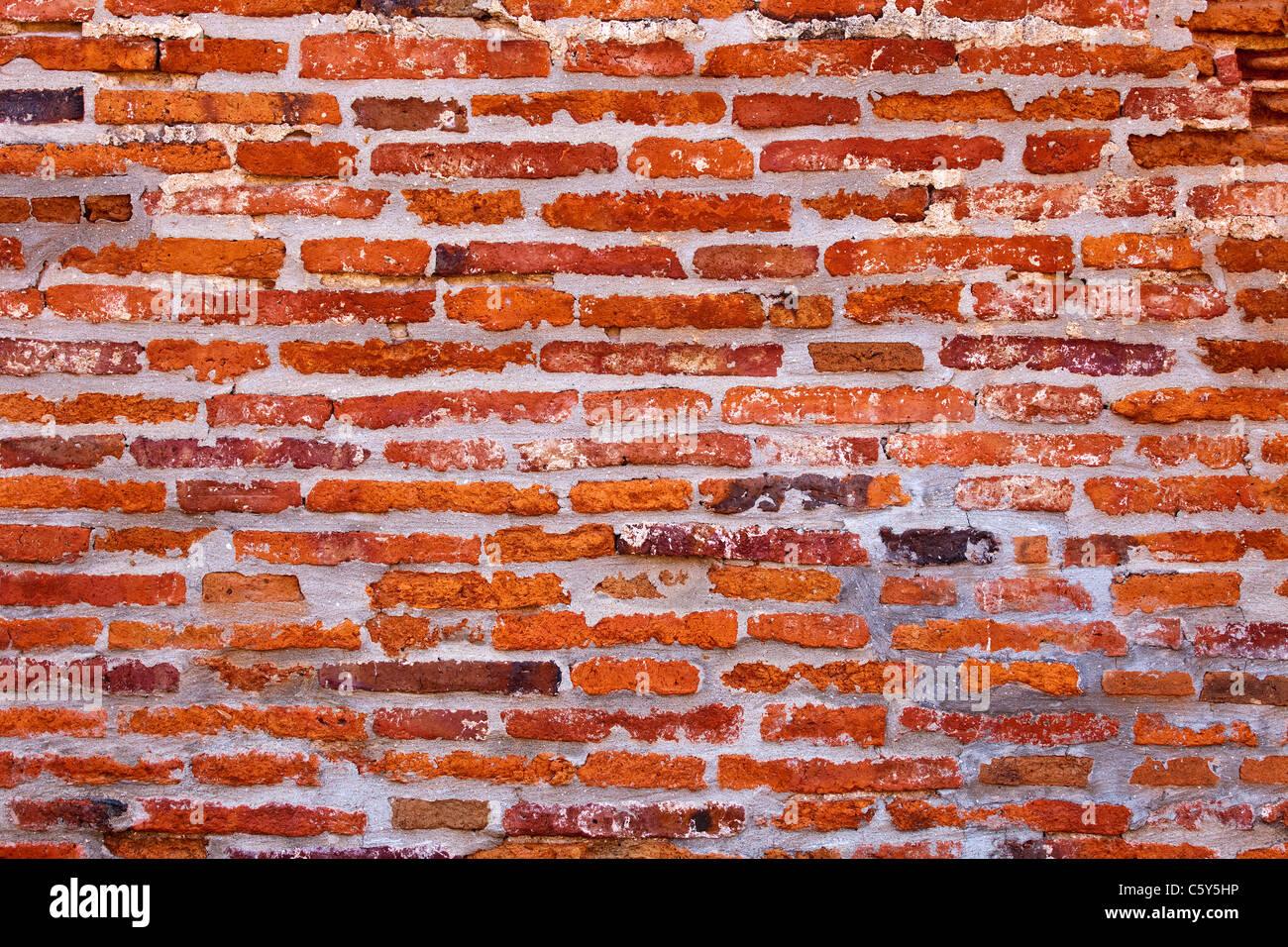 A Brick Wall - Stock Image