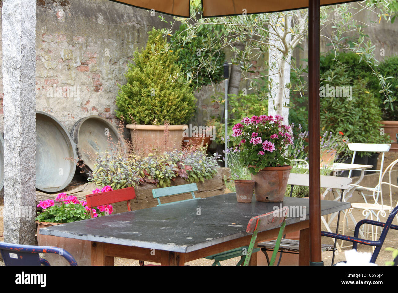 Tuscan table setting & Tuscan table setting Stock Photo: 38091950 - Alamy