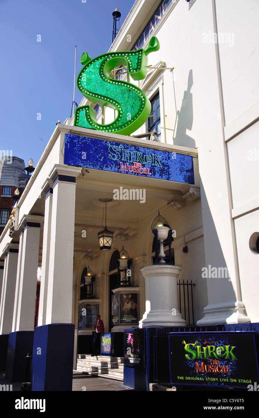 Shrek The Musical, Theatre Royal Drury Lane, Covent Garden, West End, City of Westminster, London, England, United - Stock Image
