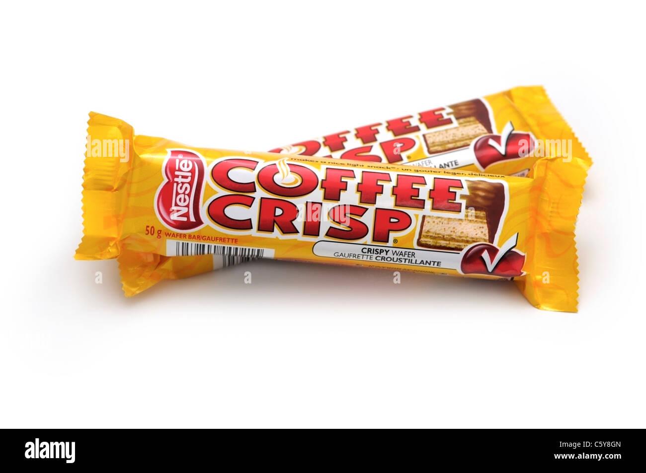Coffee Crisp Snack Bars - Stock Image