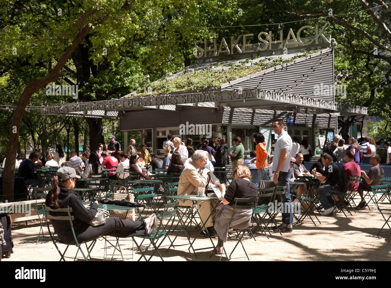 The Shake Shack, Madison Square Park, NYC (Series 2 of 2