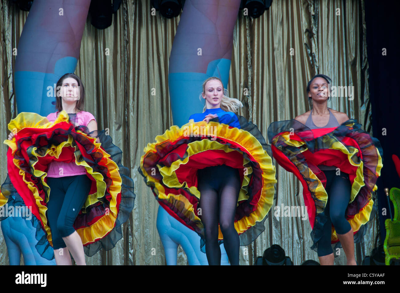 Dance show Just for Laughs comedy festival Montreal - Stock Image