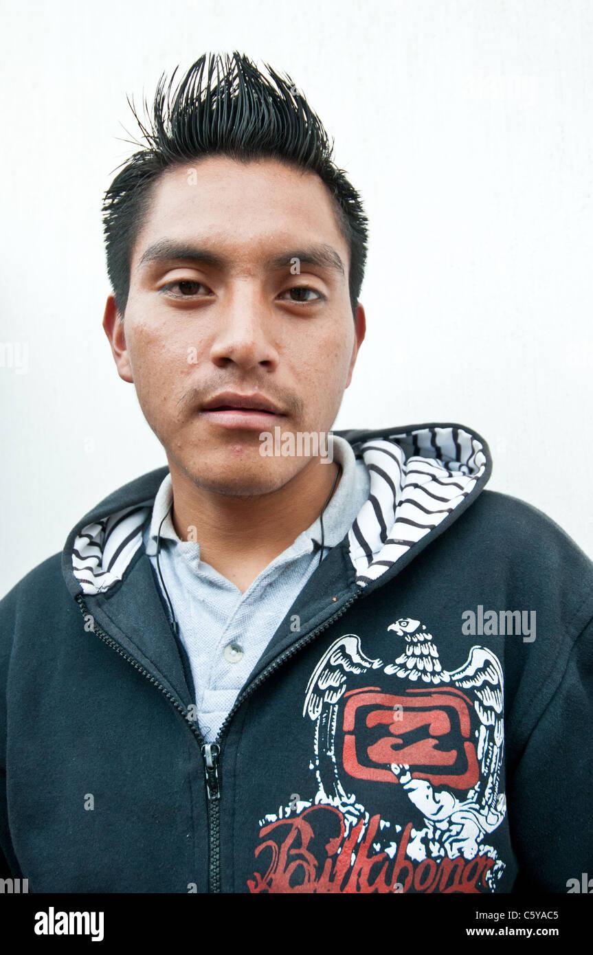 Young man Guatemala - Stock Image
