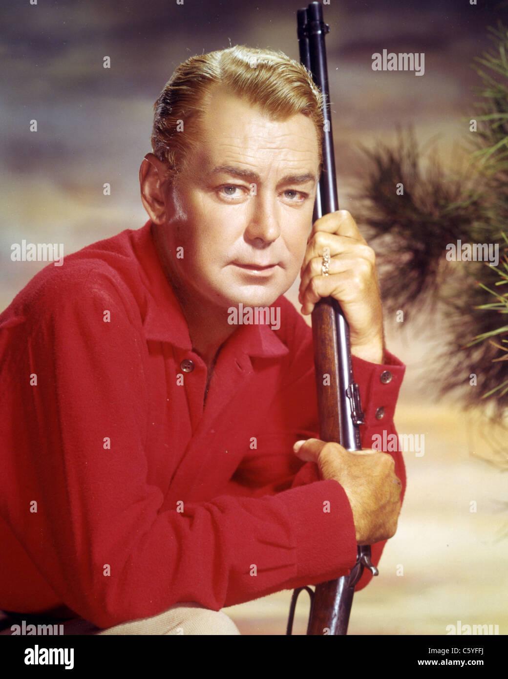 ALAN LADD (1913-1964) US film actor - Stock Image
