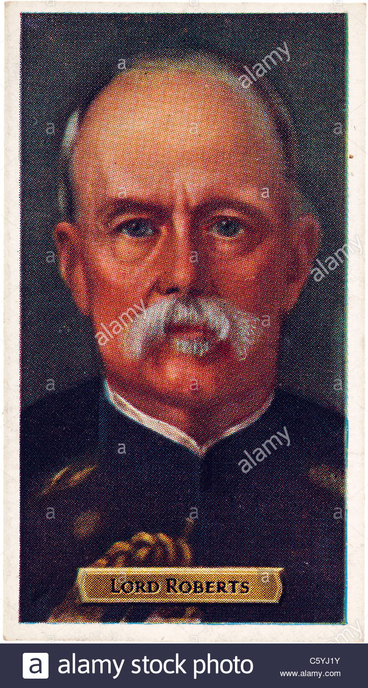 Lord Roberts 1832 to 1914, Army Commander in the Indian Mutiny. EDITORIAL ONLY - Stock Image