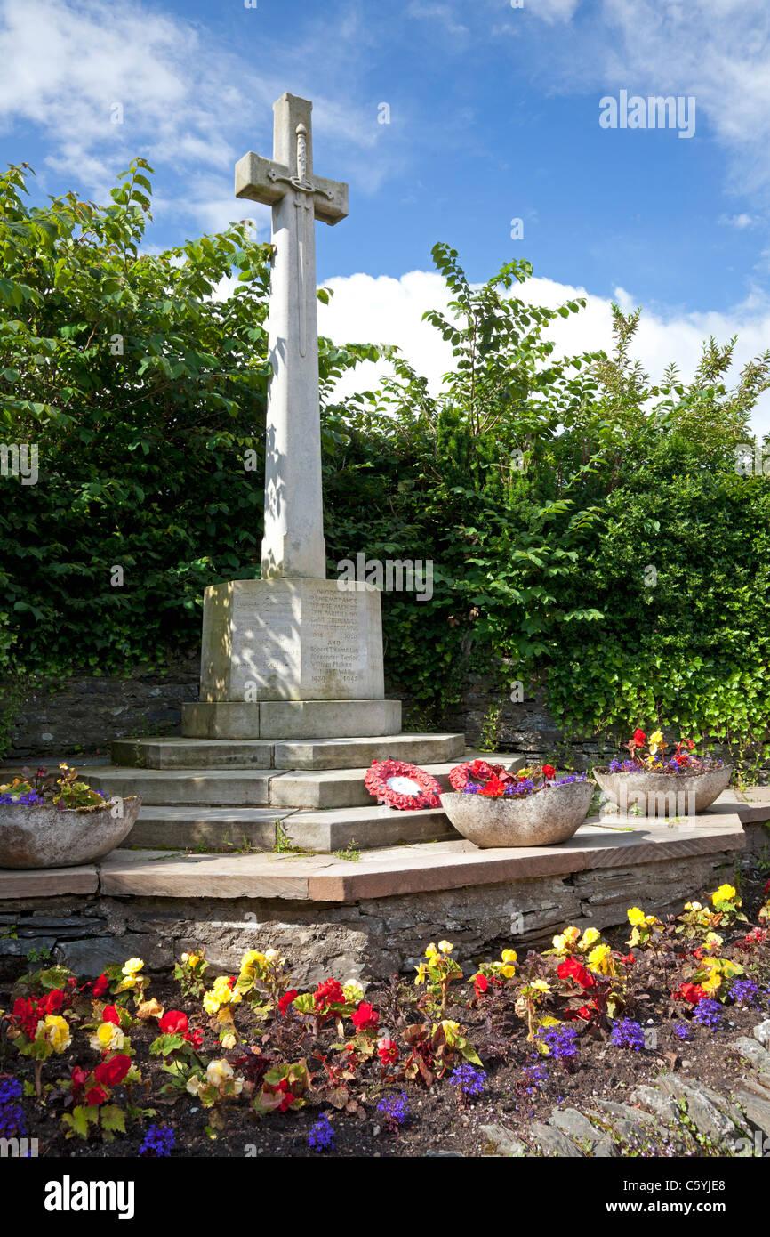 War memorial, Luss, Argyll & Bute - Stock Image