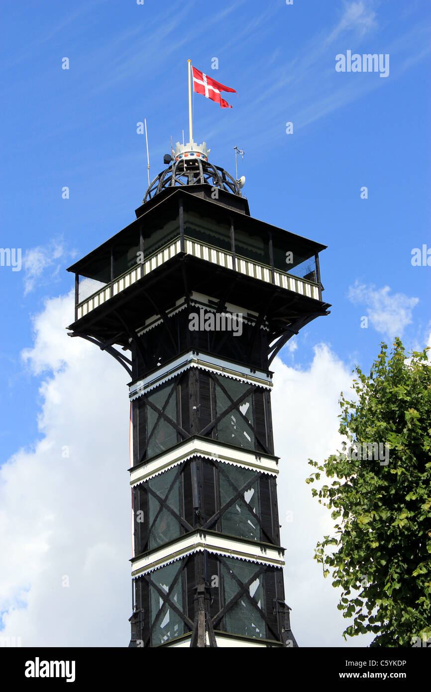 Copenhagen Zoo Tower The Wooden Observation Tower Was Built In 1905 Stock Photo Alamy