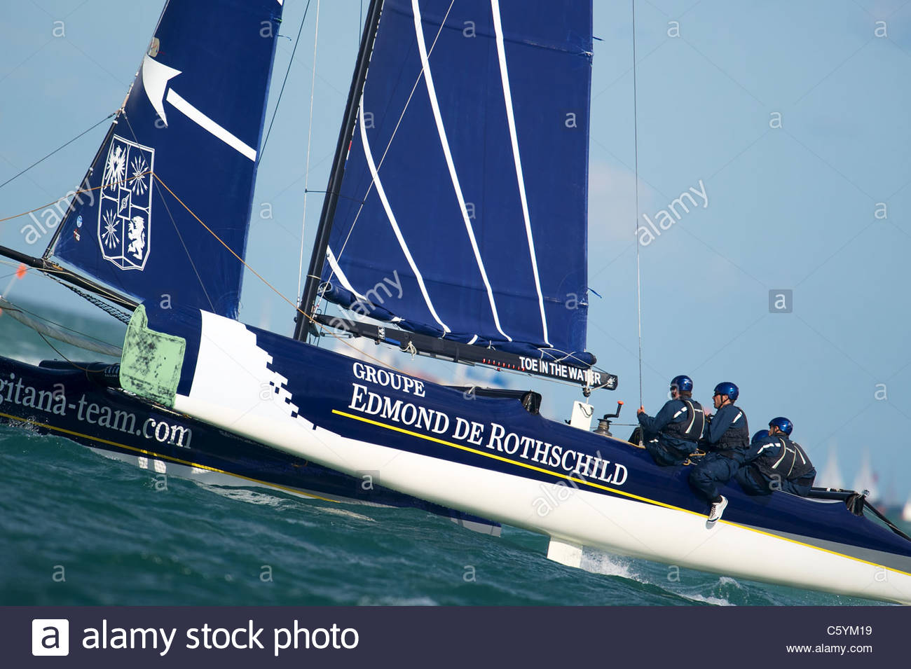 Extreme Sailing Series, Cowes, UK Stock Photo: 38102437 - Alamy