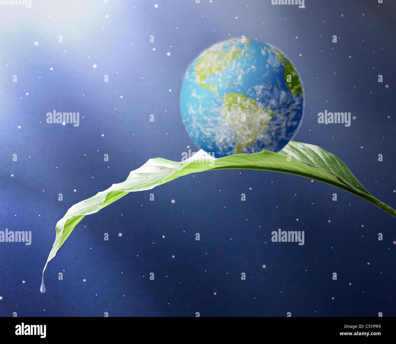 USA, Illinois, Metamora, planet earth - Stock Image