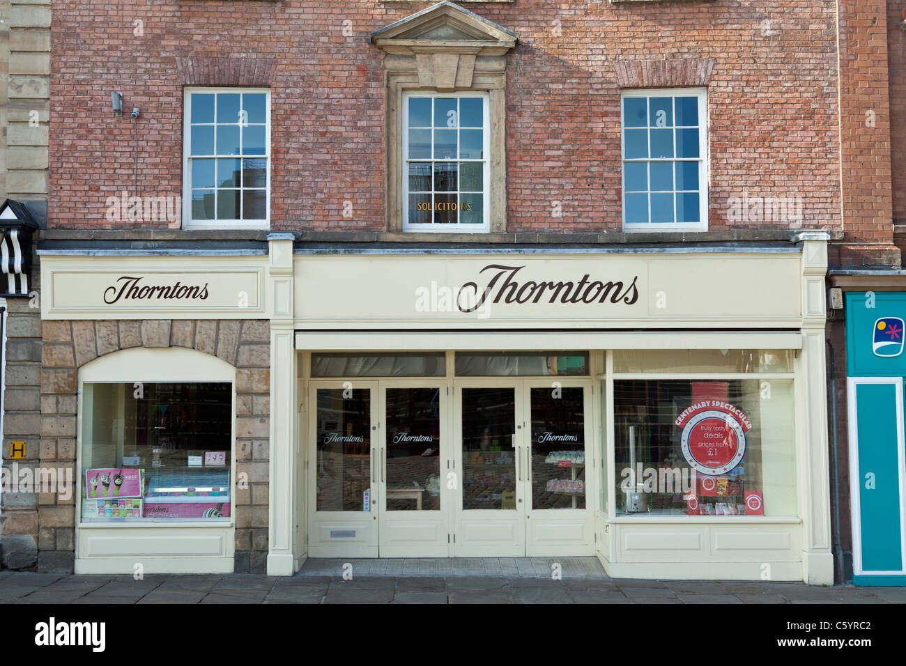 Thorntons Chocolates, Chesterfield - Stock Image