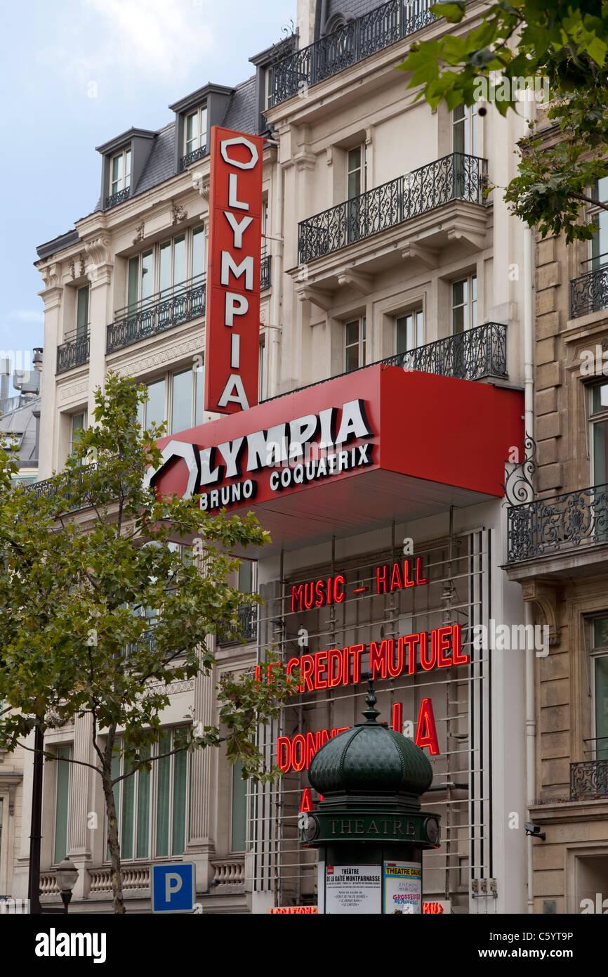 Theater In Paris