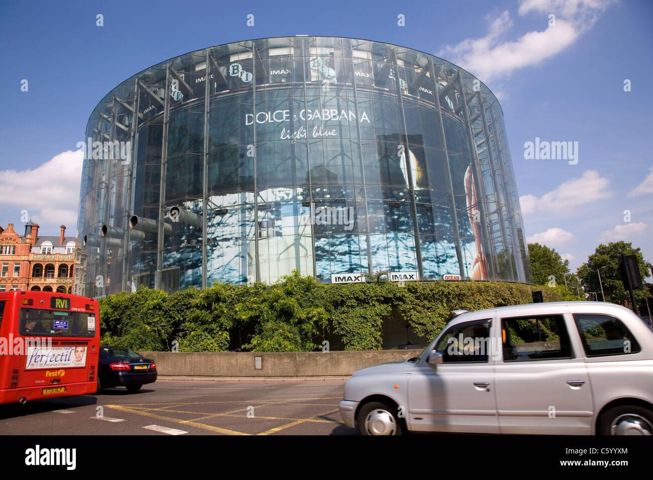 BFI Imax at Waterloo in London - Stock Image