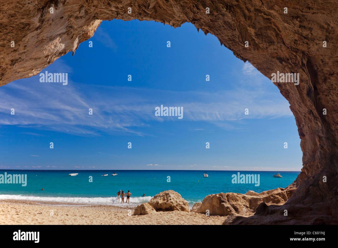 Cala Luna Sardinia Italy - Stock Image