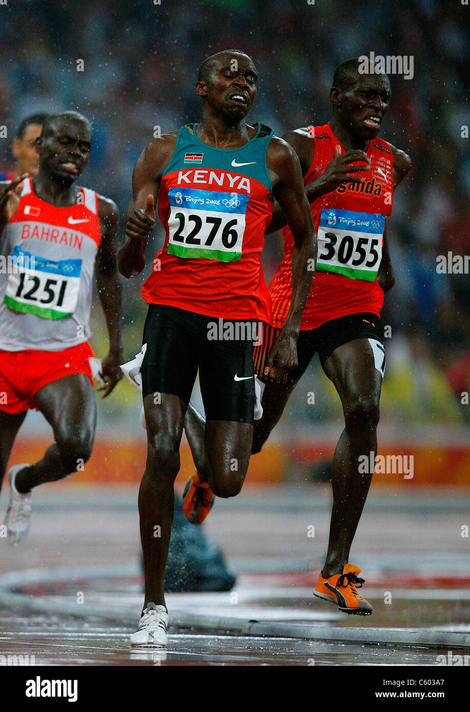 BOAZ-KIPLAGAT LALANG KENYA OLYMPIC STADIUM BEIJING CHINA 21 August 2008 - Stock Image