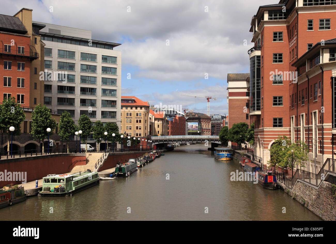 Temple Quay, Bristol city centre, England - Stock Image