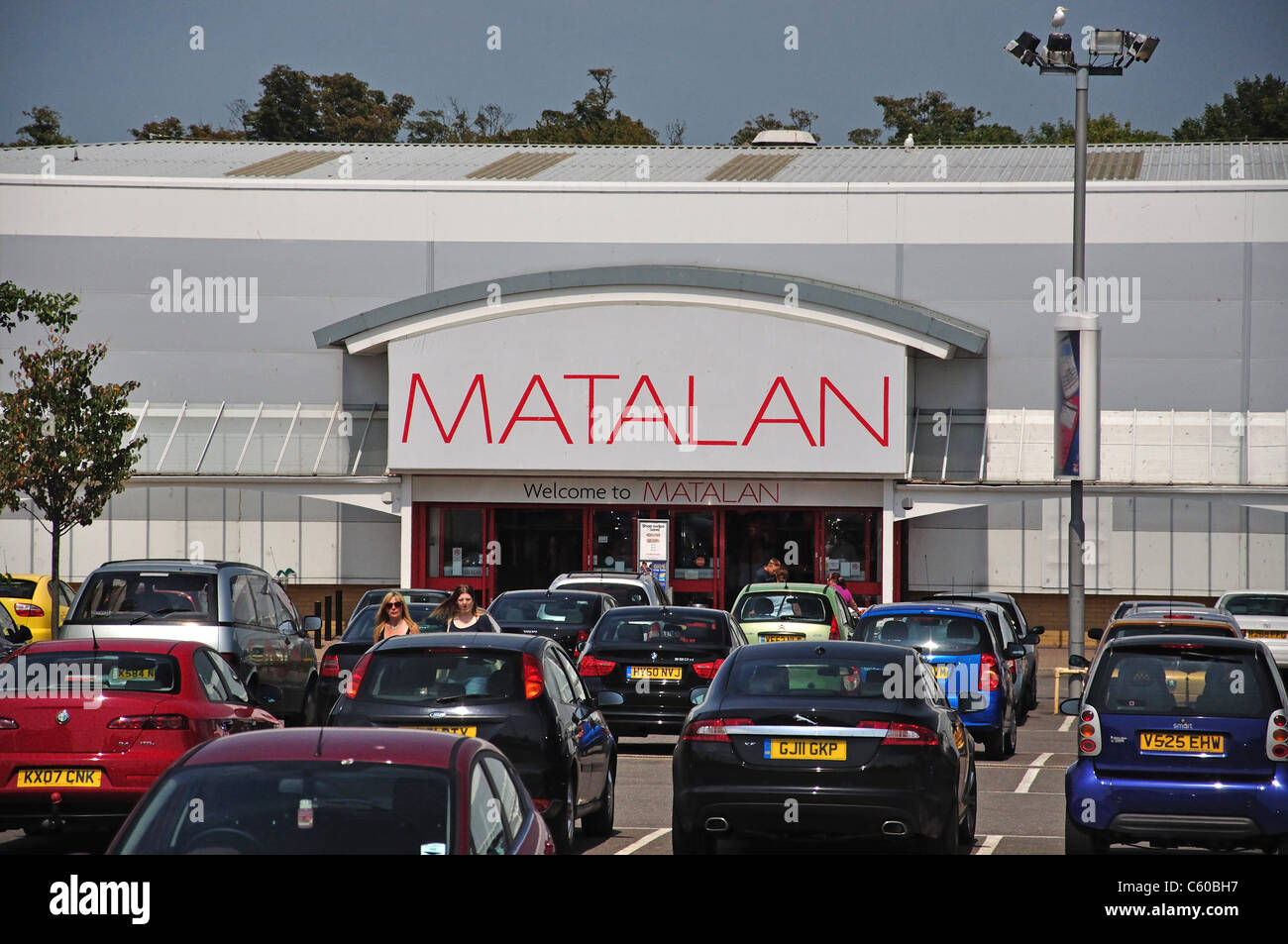 Matalan Store, Westwood Retail Park, Broadstairs, Isle of Thanet, Thanet District, Kent, England, United Kingdom - Stock Image