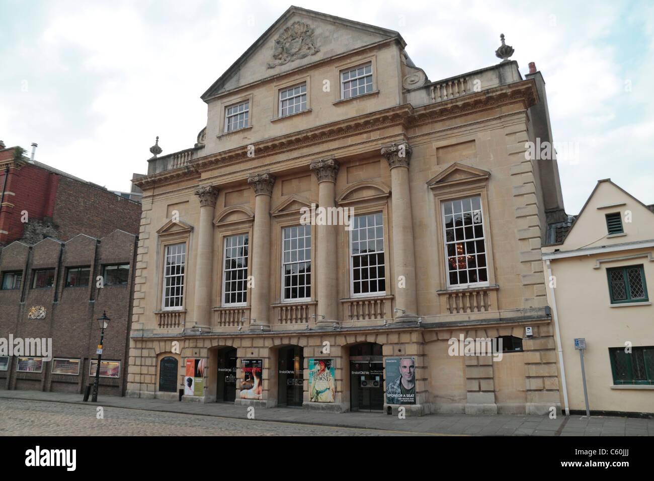 The Bristol Old Vic theatre in Bristol, UK. - Stock Image
