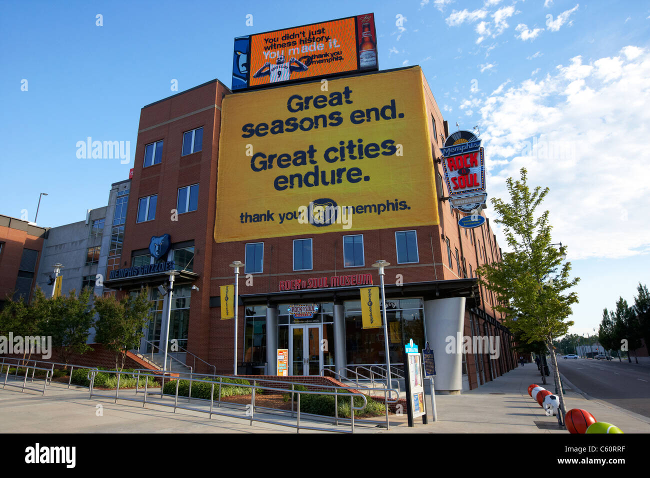 the rock n soul museum memphis tennessee united states america usa - Stock Image